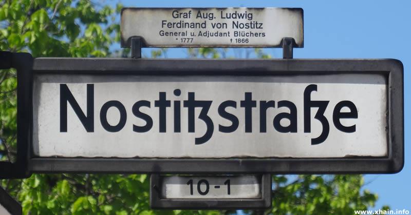 Nostitzstraße
