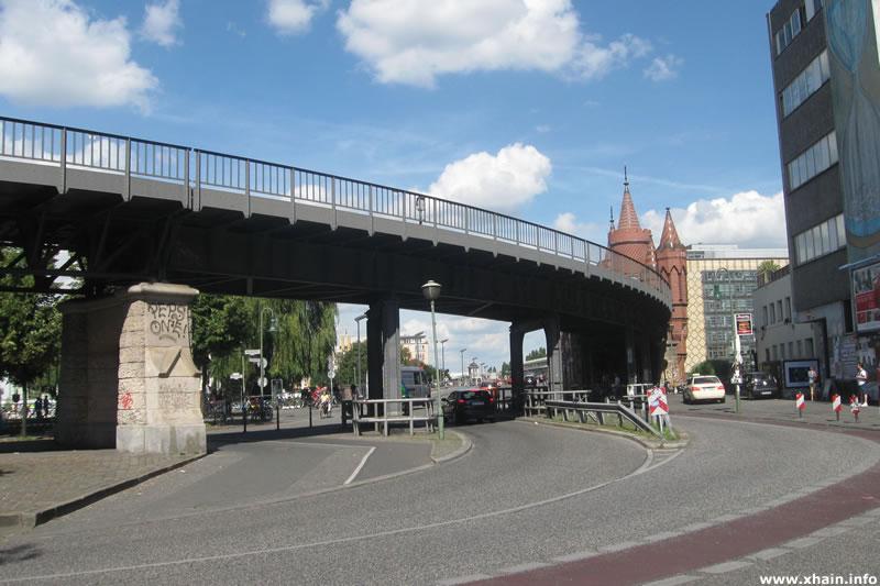Oberbaumstraße Ecke Falckensteinstraße