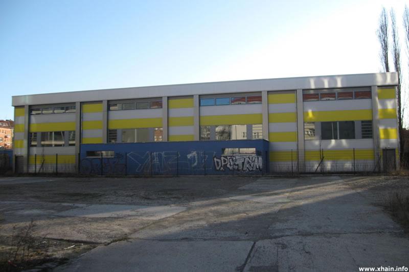 Sporthalle Oderstraße (Kurt-Ritter-Sportplatz)