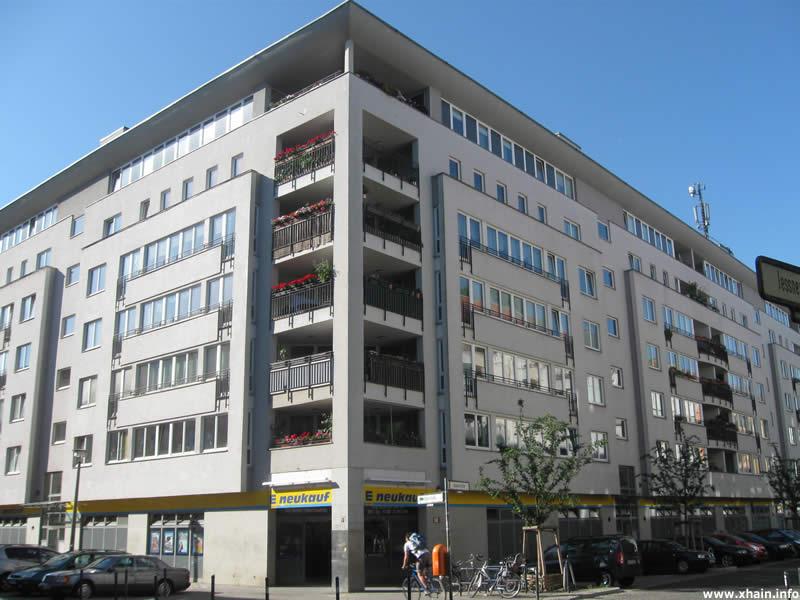 Supermarkt Oderstraße Ecke Jessnerstraße