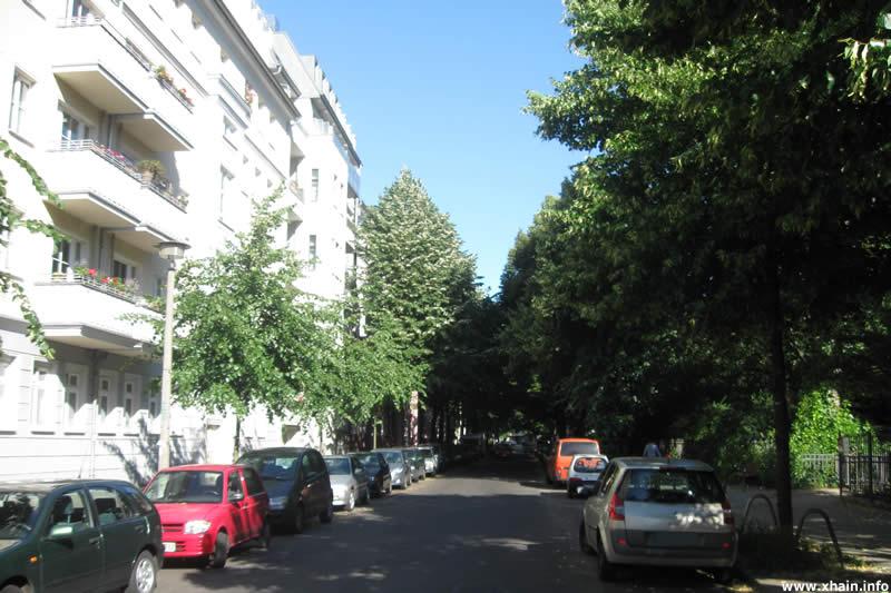 Oderstraße am Traveplatz
