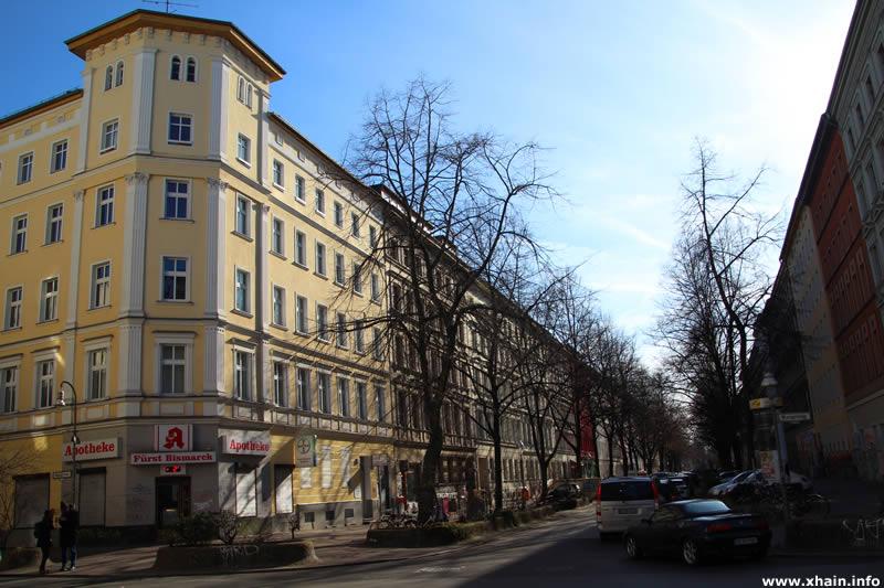 Oppelner Straße Ecke Wrangelstraße (Fürst-Bismarck-Apotheke)
