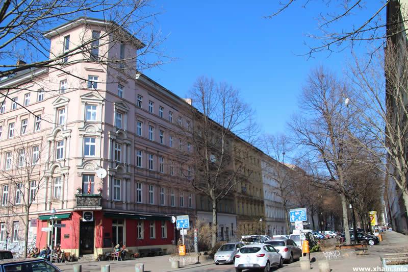Oppelner Straße Ecke Görlitzer Straße (Marabu)