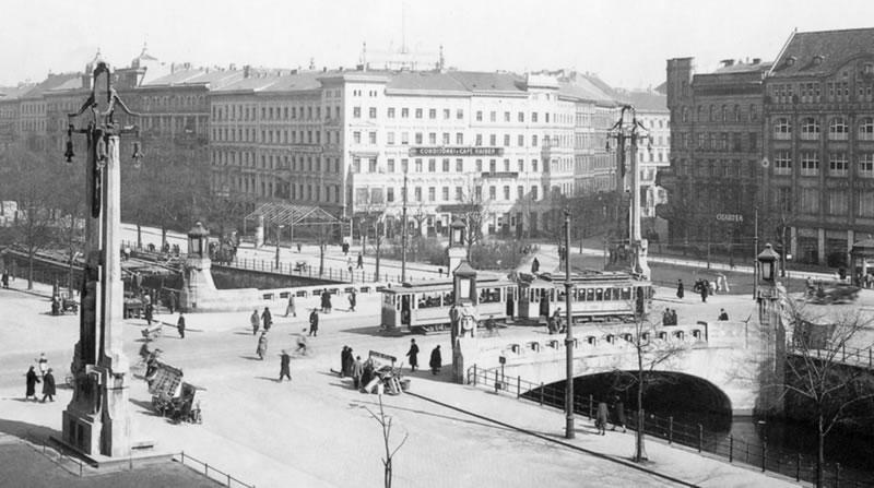 Oranienbrücke am Oranienplatz (1925)