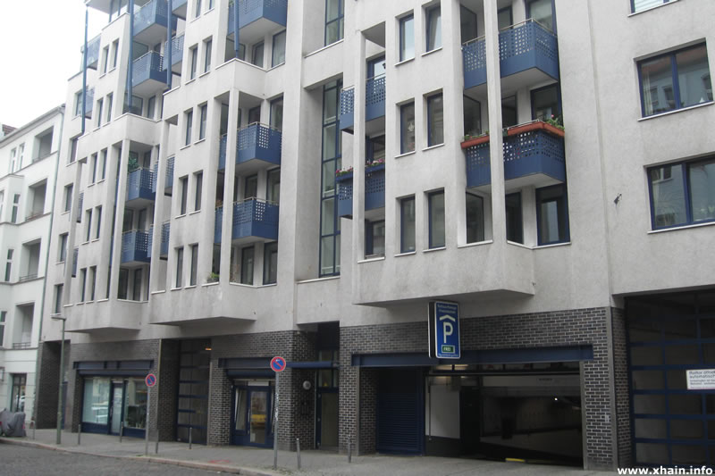 Parkhaus des Bezirksamtes (2012)