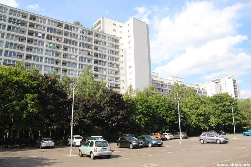 Parkplatz an der Friedrich-Stampfer-Straße