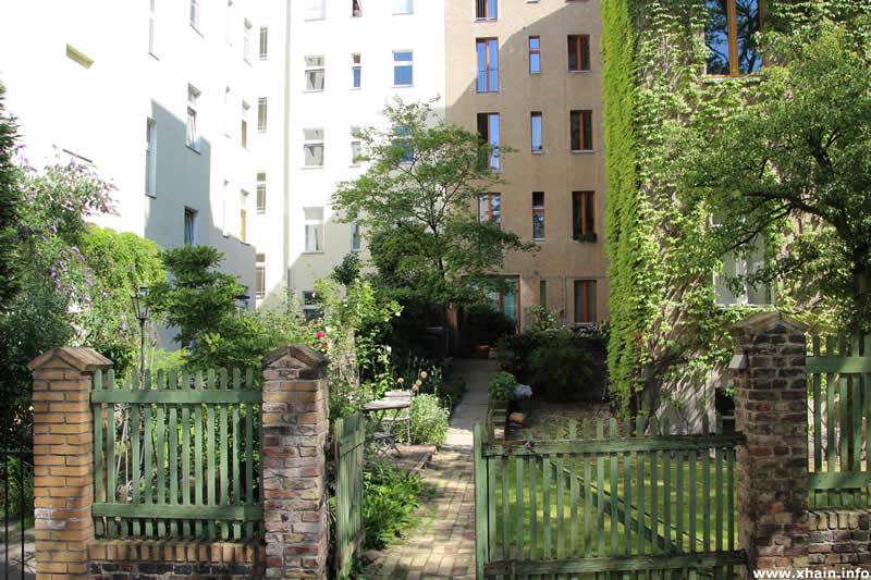 Hinterhof an der Kleinen Parkstraße