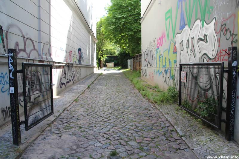 Tor an der Kleinen Parkstraße