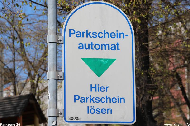 Parkzone 30 im Berliner Stadtteil Friedrichshain