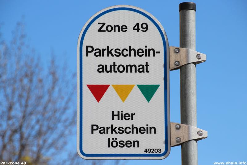 Parkzone 49 im Berliner Stadtteil Friedrichshain