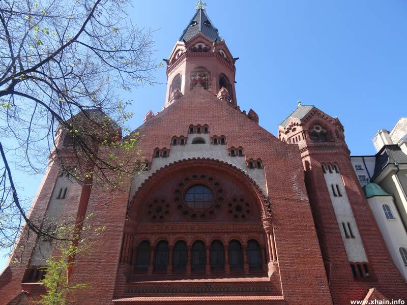 Passionskirche an der Schleiermacherstraße