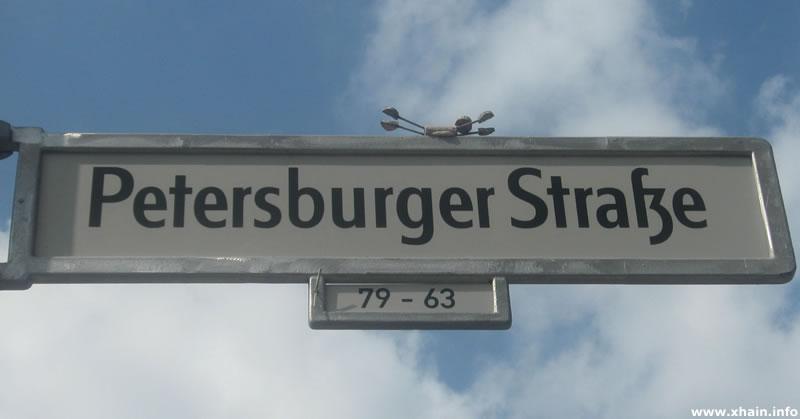 Petersburger Straße