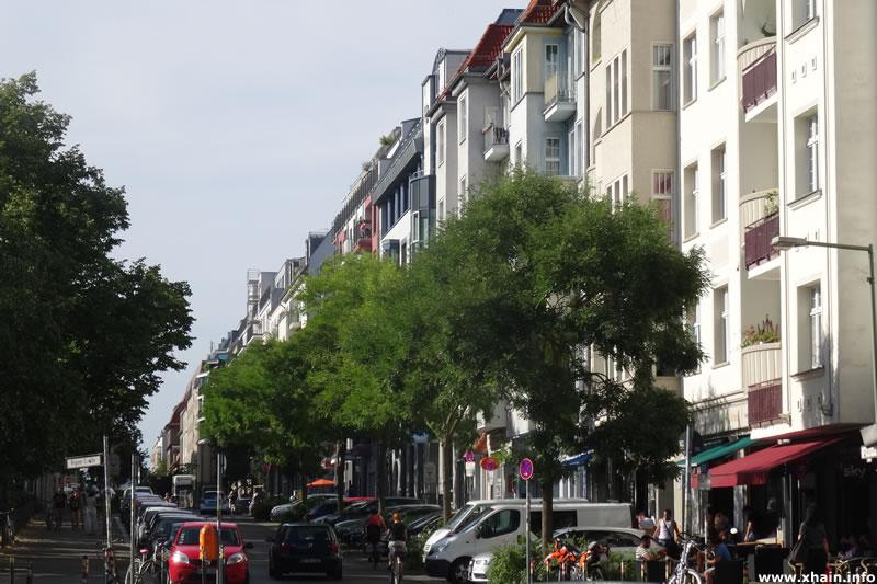 Pettenkoferstraße Ecke Rigaer Straße