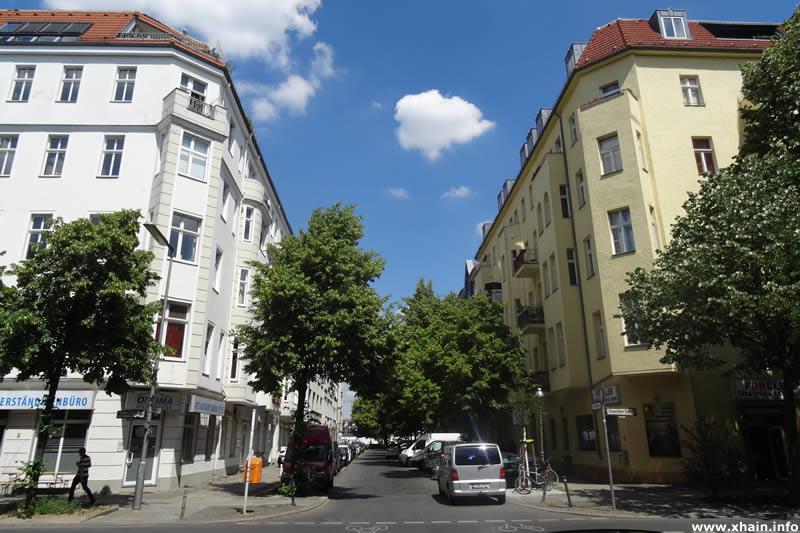 Pfuelstraße, Ecke Köpenicker Straße