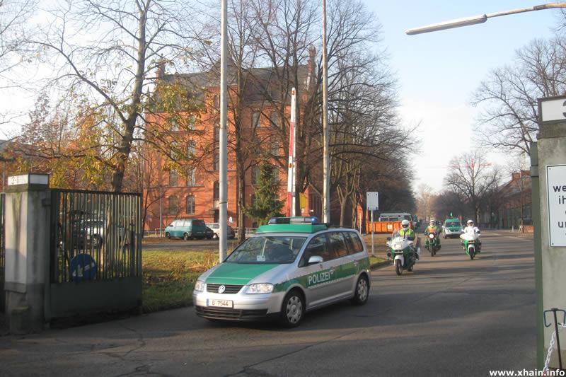 Polizeikaserne Golßener Straße