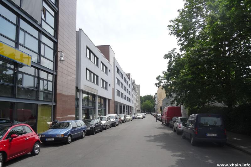 Prinzessinnenstraße, Blickrichtung Segitzdamm