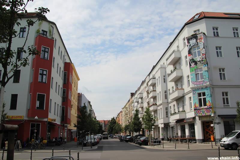 Kreuzung Pücklerstraße / Wrangelstraße