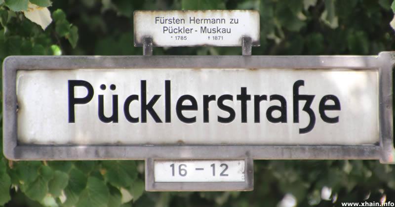 Pücklerstraße