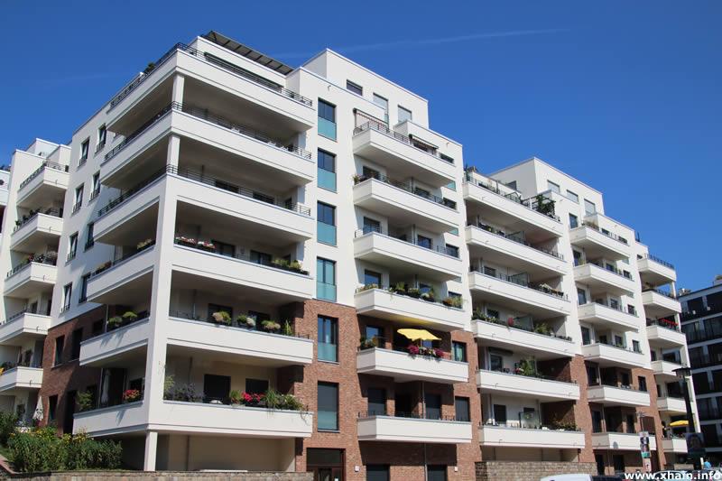 Neubauten in der Pufendorfstraße