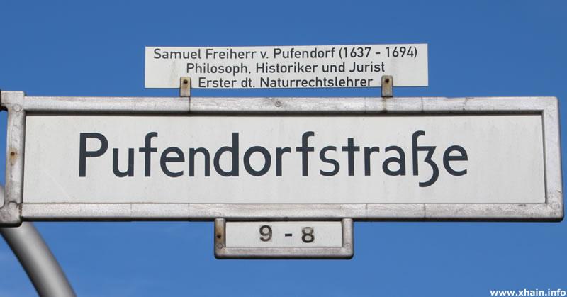 Pufendorfstraße