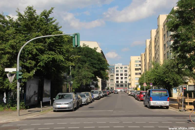 Puttkamerstraße Ecke Wilhelmstraße