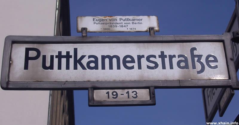 Puttkamerstraße