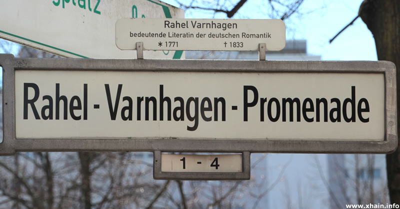 Rahel-Varnhagen-Promenade