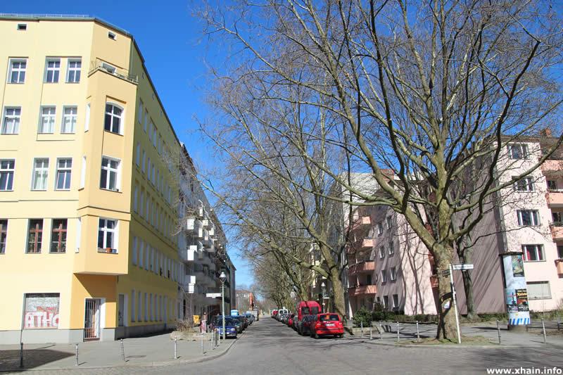 Ratiborstraße Ecke Reichenberger Straße, Blickrichtung Wiener Straße