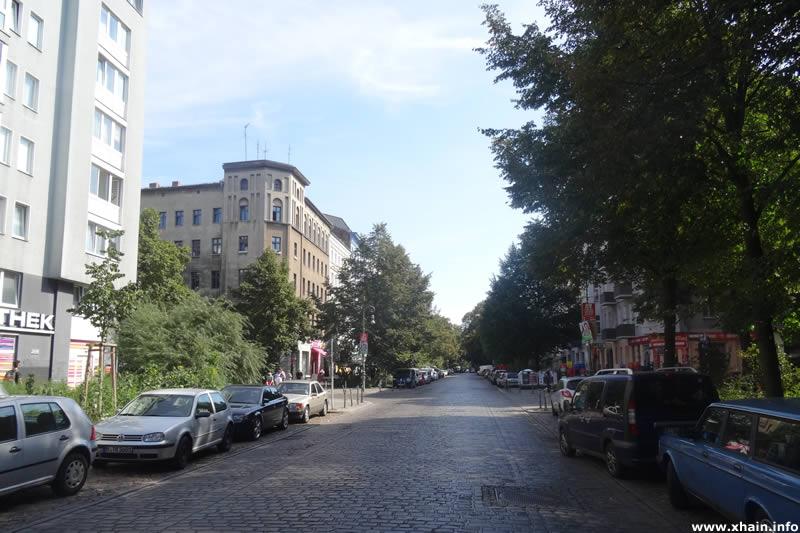 Reichenberger Straße Ecke Forster Straße