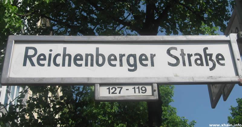 Reichenberger Straße