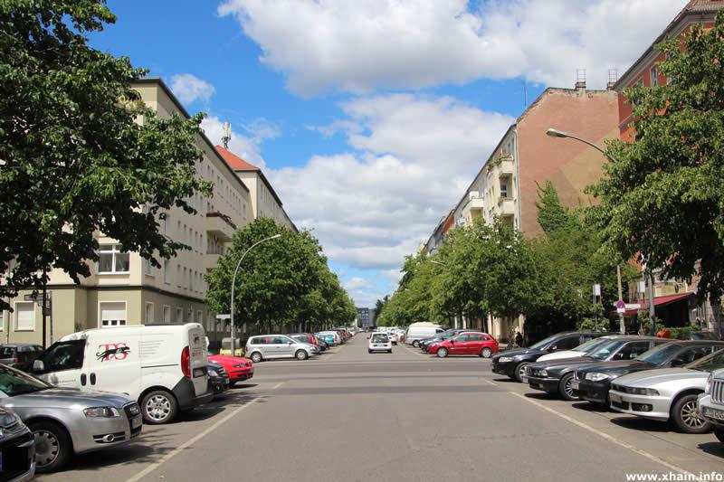 Richard-Sorge-Straße Ecke Mühsamstraße