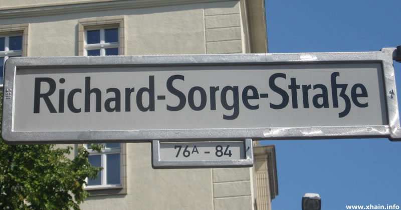 Richard-Sorge-Straße