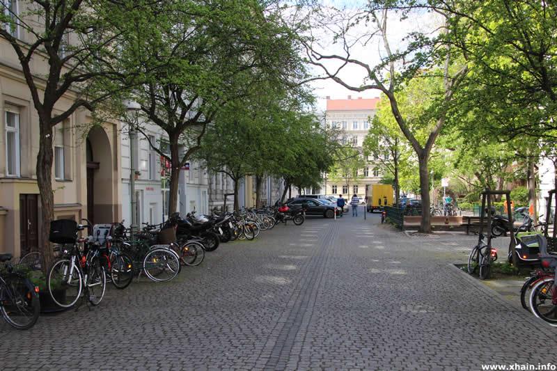 Fußgängerzone in der Riemannstraße