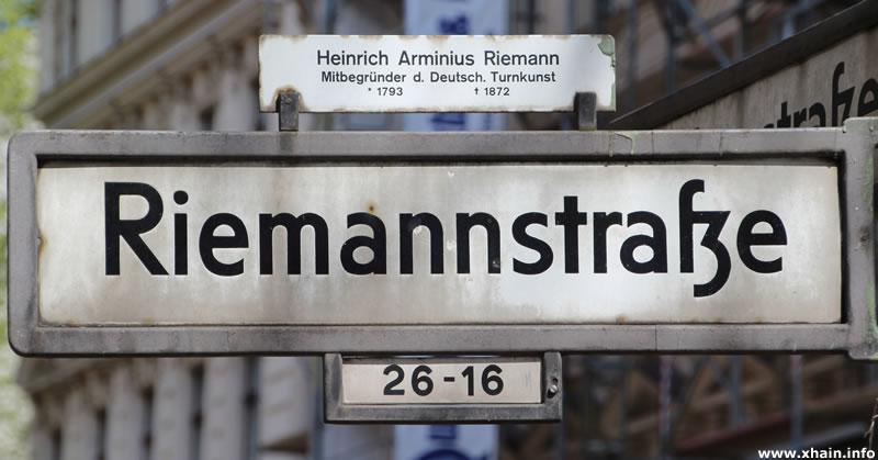 Riemannstraße