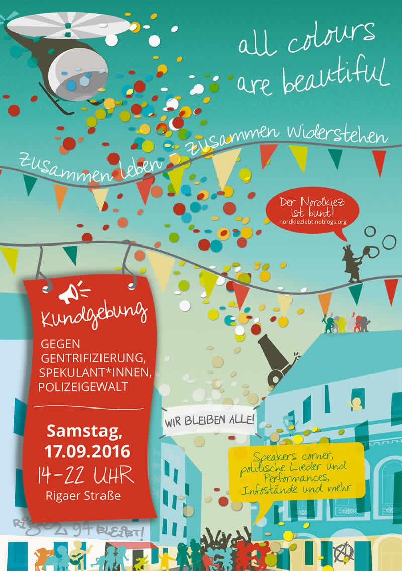 Straßenfest Rigaer Straße