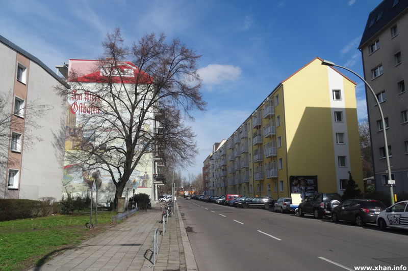 Rochowstraße - Wandbild Am alten Ostbahnhof