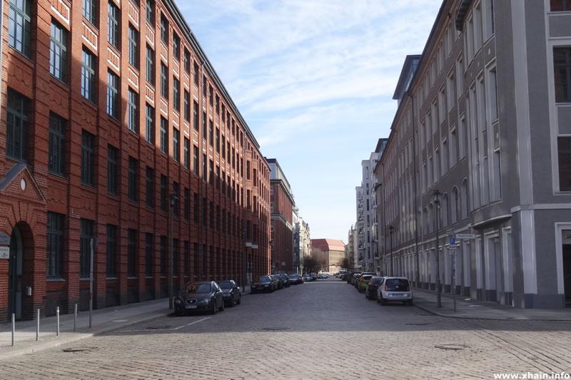 Rotherstraße, Blickrichtung Modersohnstraße