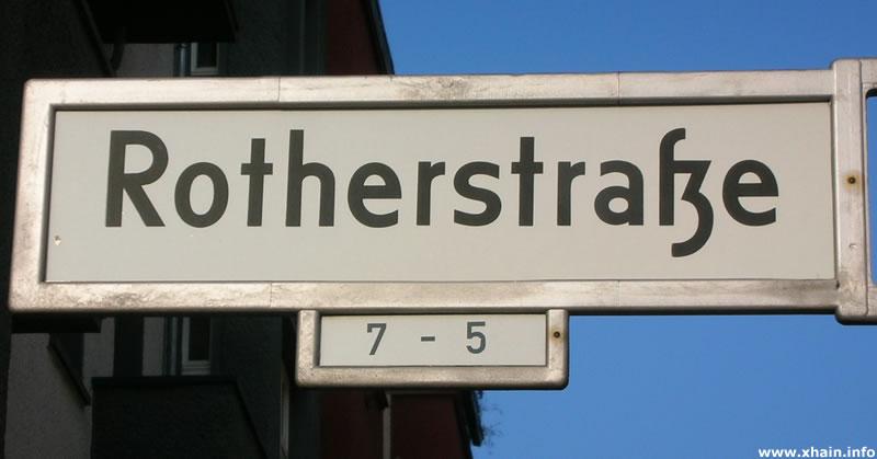 Rotherstraße