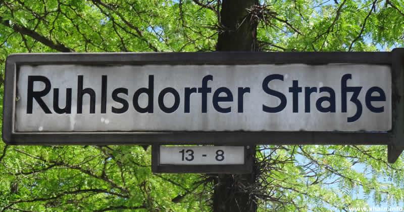 Ruhlsdorfer Straße