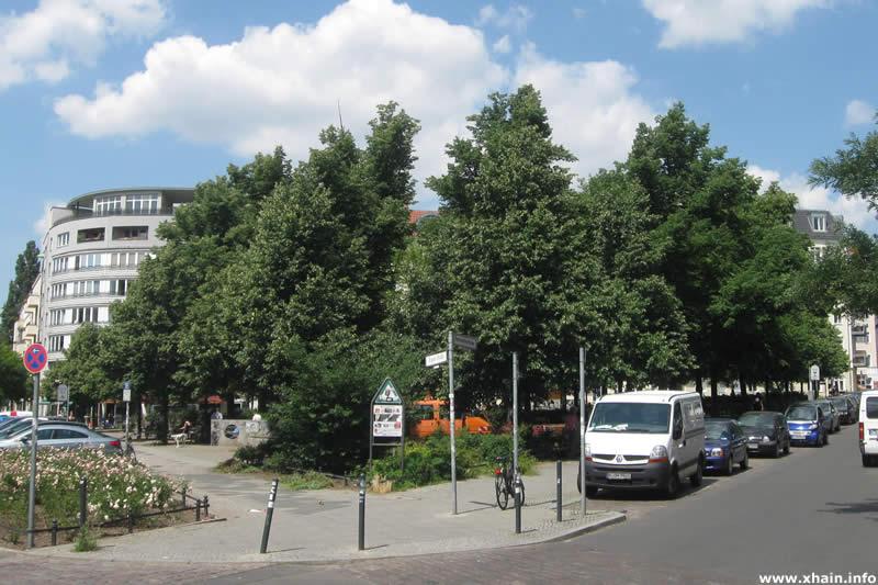 Schleidenplatz, Ecke Pettenkoferstraße