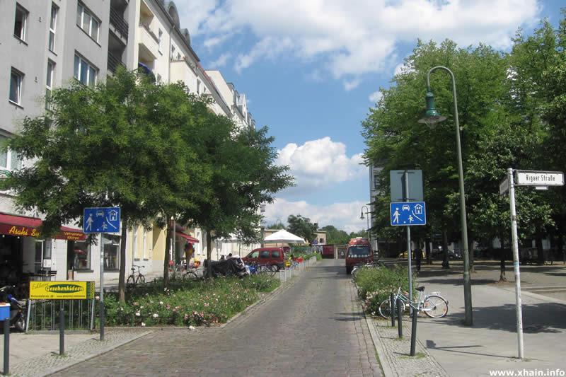 Schleidenplatz Ecke Rigaer Straße