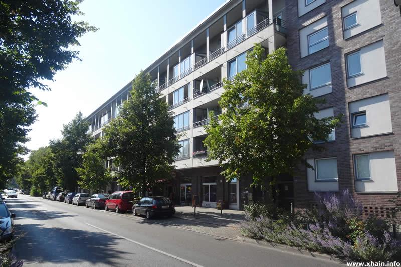 Schöneberger Straße, Blickrichtung Hafenplatz