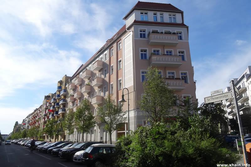 Schreinerstraße Ecke Pettenkoferstraße