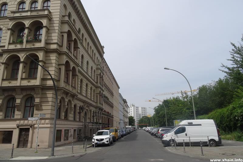 Sebastianstraße, Ecke Luckauer Straße