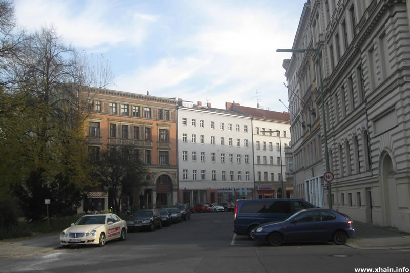 Sebastianstraße am Alfred-Döblin-Platz