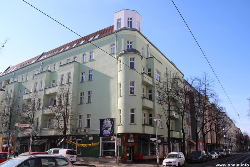 Seumestraße Ecke Wühlischstraße