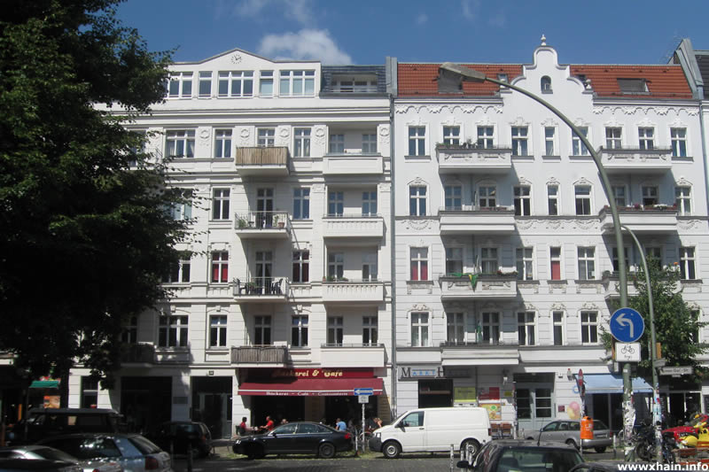 Simon-Dach-Straße Ecke Krossener Straße