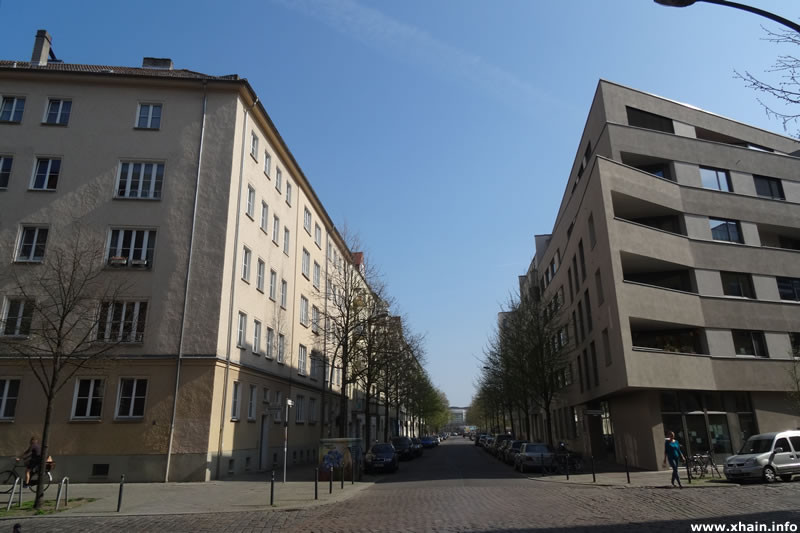 Simplonstraße, Blickrichtung Ostkreuz
