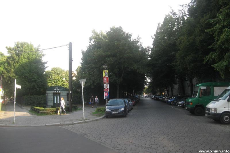 Sonntagstraße Ecke Wühlischplatz