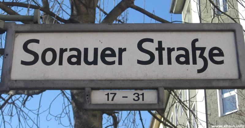 Sorauer Straße